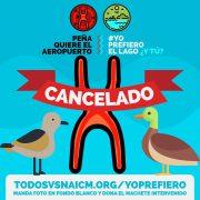 Mexiko-Stadt: Flughafenbau weder in Atenco noch Texcoco!