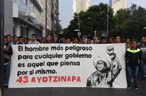 Angehörige Ayotzinapa