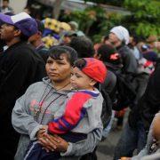 Neue Migrant*innenkarawane auf dem Weg nach Mexiko
