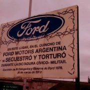 Ex-Produktionschef von Ford Argentinien wegen Verbrechen gegen die Menschlichkeit verurteilt