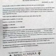 Paramilitärs setzen Kopfgeld auf Indigene aus