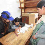 Vorwahlen in Bolivien