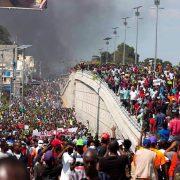 Die politische und sozioökonomische Krise in Haiti