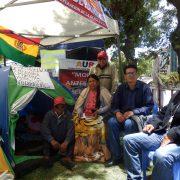 Spannungen vor dem Wahlkampf in Bolivien