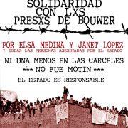 Argentinien: Todesfälle und Repression in der Haftanstalt Bouwer