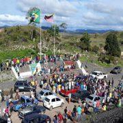 Indígenas aus Venezuela auf der Flucht nach Brasilien