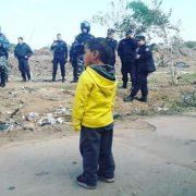Garín: 250 Familien gewaltsam geräumt