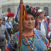 """""""Marsch der Würde"""" erreicht Guatemala-Stadt"""