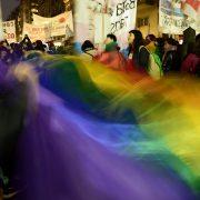 Fotogalerie: Demo gegen Morde an Transpersonen und Travestis