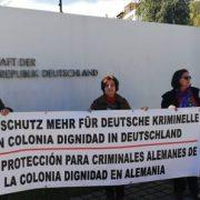 Wir dokumentieren: Protest gegen stockende Aufarbeitung der Verbrechen der Colonia Dignidad