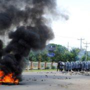 Honduras: Proteste zum 10. Jahrestag des Staatsstreichs