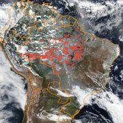 Anfang September fast 1000 Brandherde im Amazonasgebiet
