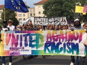 """Unteilbar""-Demonstration: ""United Against Racism"""