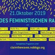 Claim the Waves: Eine Stunde onda zum Tag des feministischen Radios