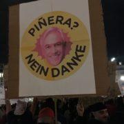 """Piñera, Nein Danke!"" - Piñera, no gracias! - protesta en Berlin, 21.10.2019"
