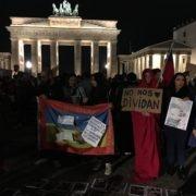 """""""No nos dividan"""" - protesta en Berlin 21.10.2019"""