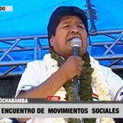 Morales erklärt sich zum Sieger, Opposition ruft zu Protesten auf