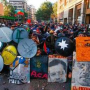 Chile despertó, homenaje a lxs cabrxs!