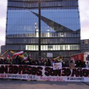 Protesta en Berlin demanda alto a violaciones de derechos humanos