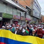Generalstreik gegen die Regierung Duque