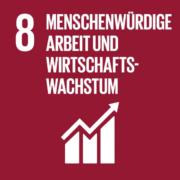Hinhörer: SDG 8 Menschenwürdige Arbeit und Wirtschaftswachstum