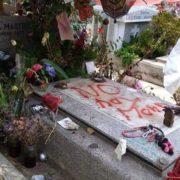 Vandalismus am Grab von Sänger Victor Jara