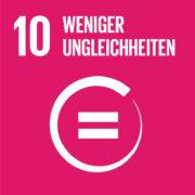 Hinhörer: SDG 10 Weniger Ungleichheiten