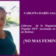 Frauenrechtlerin in Bolívar ermordet