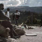 Quarantäne in Usme: Bevor es Hilfe gibt, kommt die Polizei