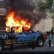 Tod im Polizeigewahrsam: Protestierende fordern Gerechtigkeit für Giovanni López