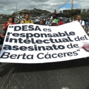 Fall Berta Cáceres: Straffreiheit für Hintermann?