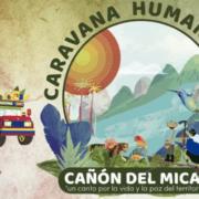 Humanitäre Karawane im Cauca unter Beschuss