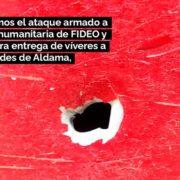 Bewaffneter Angriff auf Hilfskonvoi in Chiapas
