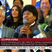 Evo Morales zurück in Bolivien