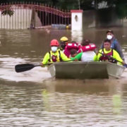 Hurrikan Iota fegt über Zentralamerika