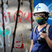 Newén Mapuche: Schutzschilde und Erste Hilfe gegen Polizeigewalt