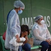 Bevölkerung von Manaus improvisiert Covid-19-Behandlungen zu Hause