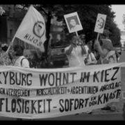 Ex Militar Kyburg en Berlin: Escrache – Kundgebung Video