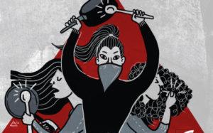 """Cover des Im Unrast Verlag erschienenen Buches """"Revolte in Chile - Aufbruch im Musterland des Neoliberalismus"""""""