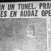 """Licht am Ende des Tunnels: Jahrestag der """"Großen Flucht"""""""