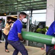 Sauerstoff in Manaus wird knapp