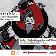 Revolte in Chile – Video der Buchpräsentation mit Sophia Boddenberg