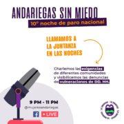 Solidaridad: Andariegas radio sobre la situación en Colombia