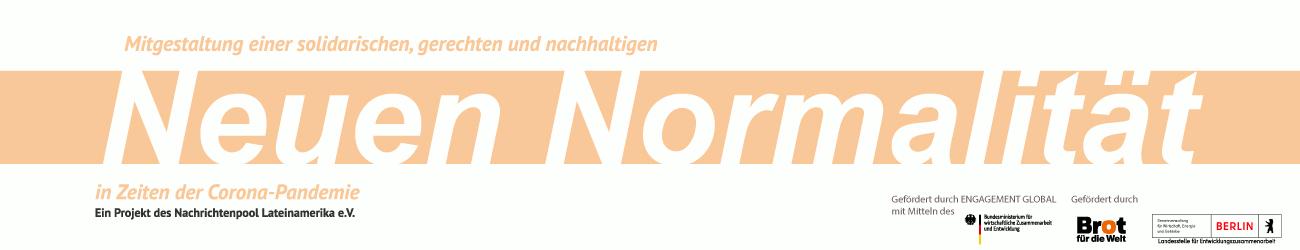 Förderbutton Neue Normalität - BMZ, BfdW, Berlin