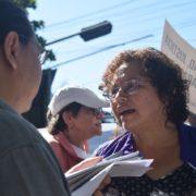 """Morena Herrera: """"Wir sollen unterwürfig und untergeordnet sein"""""""