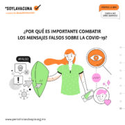 #SoyLaVacuna – Kampagne gegen Fake-News über Corona