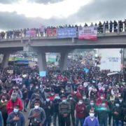 """""""Die Leute sind empört"""" – landesweite Streiks gegen Korruption"""