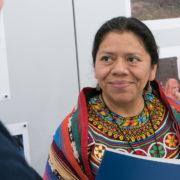 Umweltaktivistin Lolita Chávez: seit vier Jahren im Exil