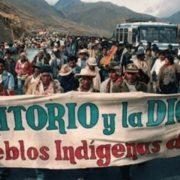 Indigene des Landes rufen zu großem Protestmarsch auf
