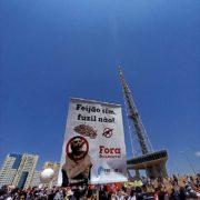 Für Bolsonaro auf der Straße